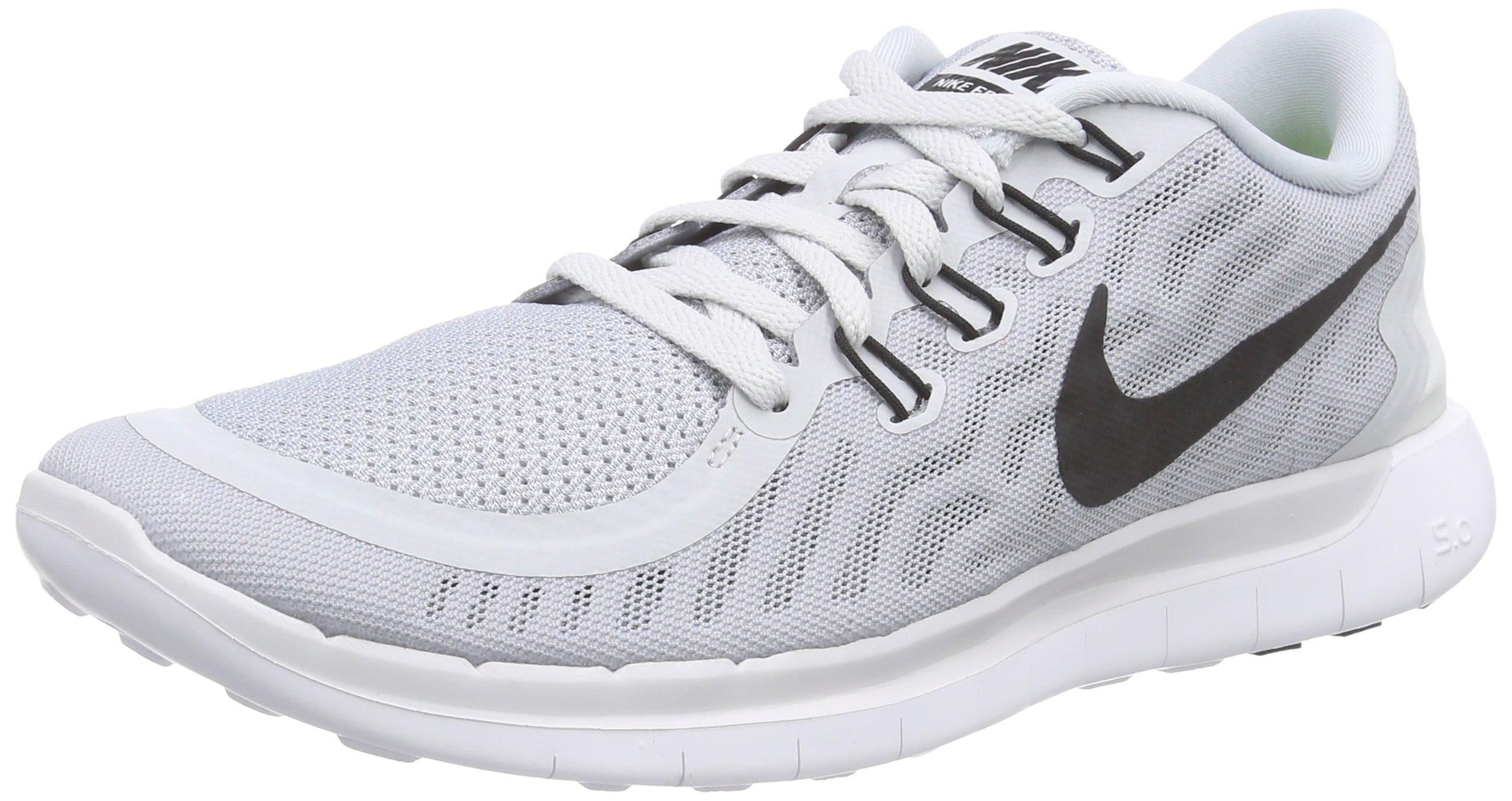 11ab1b86db77 Galleon - Nike Men s Free 5.0 Running Shoe Pure Platinum Wolf Grey Cool Grey  Black Size 10 M US