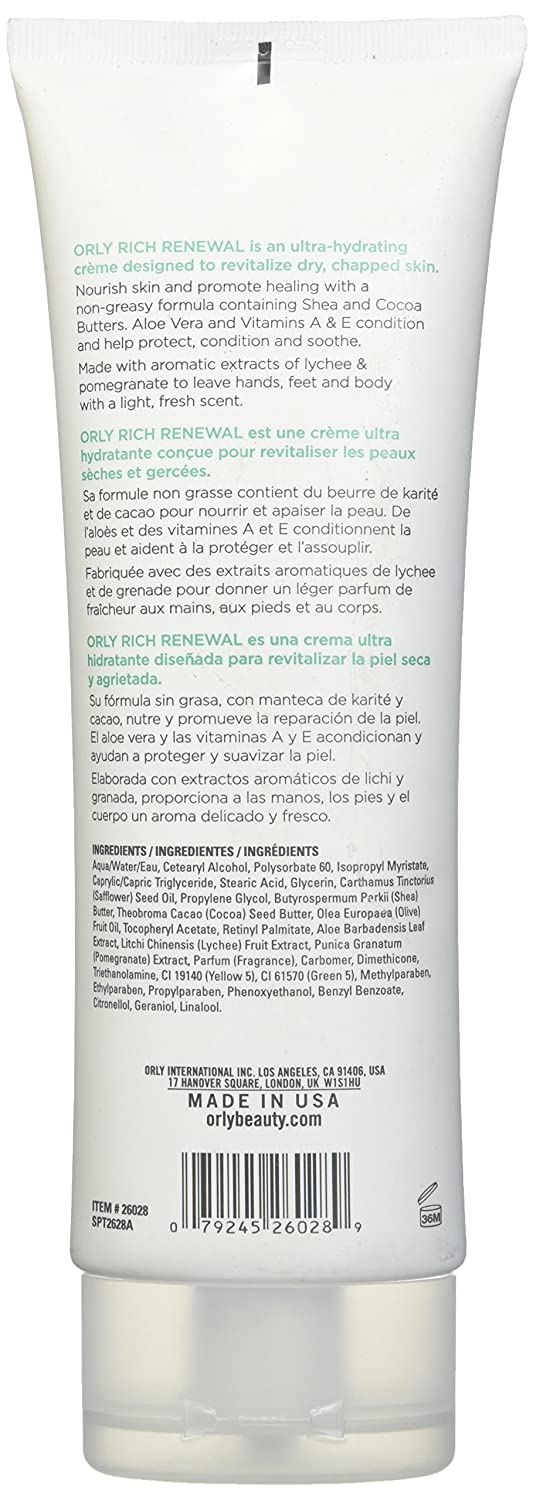 Amazon.com : Orly Hydrating Creme, Paradise, 8 Ounce : Hand Creams : Beauty