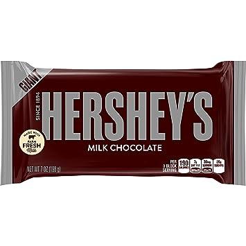 Hersheys gigante americano de chocolate con leche Barra 198g Gratis Reino Unido Entrega
