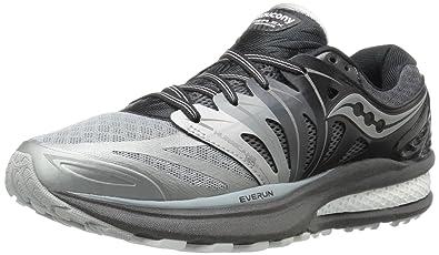 Saucony Women's Hurricane ISO 2 Refl Running Shoe, Grey/White, ...