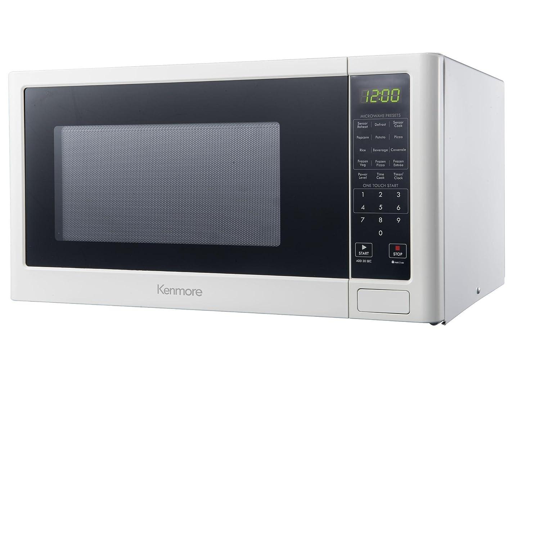 Amazon.com: Kenmore 1.6 cu. ft. Countertop 1100 Watts Microwave Oven ...