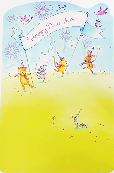 Amazon happy new year greeting card wishing you and those happy new year greeting card quotwishing you and those you love the kind m4hsunfo