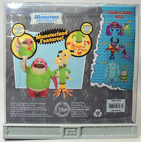Disney/Pixar Monsters Universidad exclusivo 6 PULGADAS ...