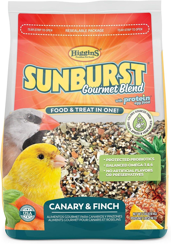 Higgins Sunburst Canary Finch 2Lb