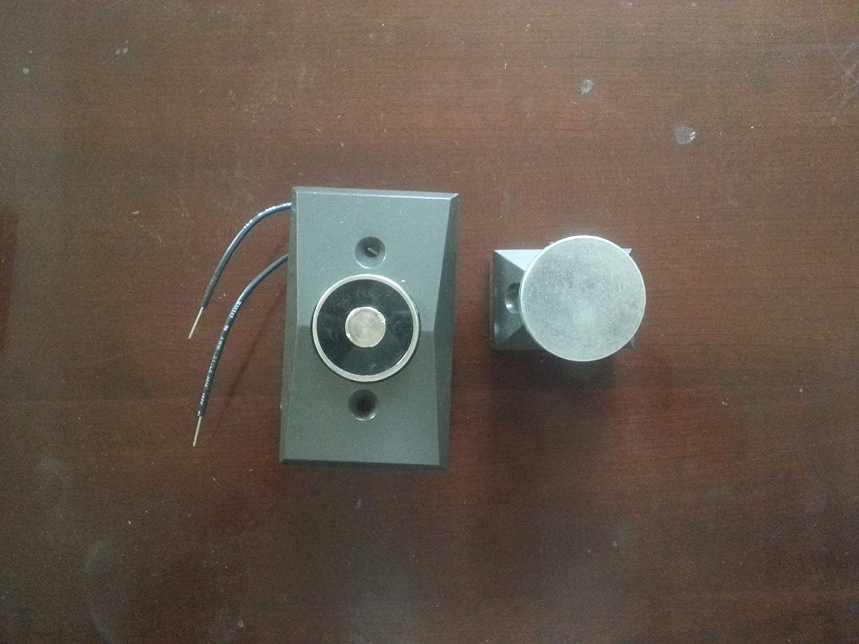 Renewed LCN SEM7850 SEM 7850-689 Aluminum Recessed Wall Mount Magnet TRIVOLT