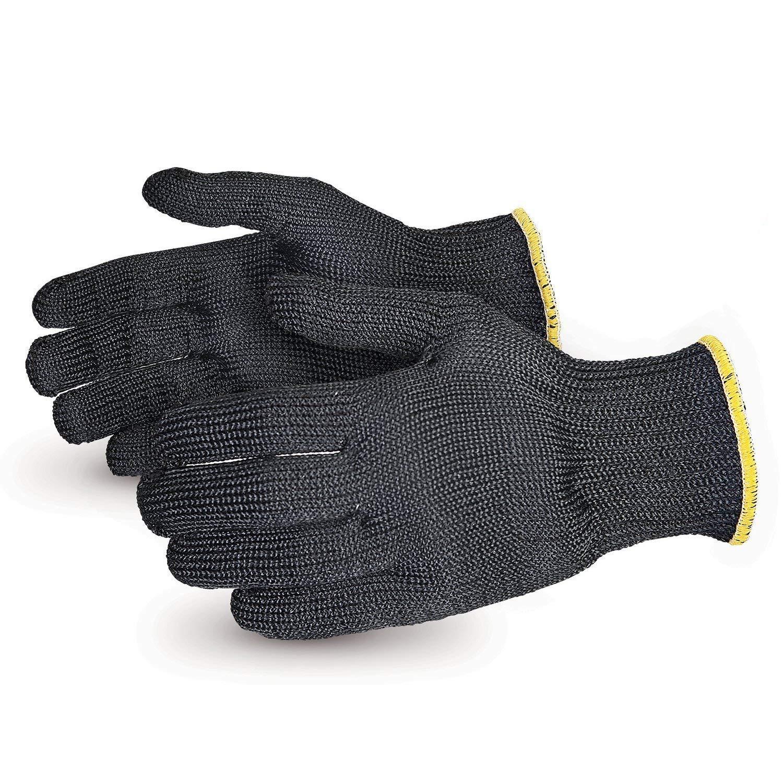 Contender Heavyweight Cut Resistant Glove with Kevlar (1 Pair of Kitchen Heat Resistant Gloves - SBKG/M) Size Medium