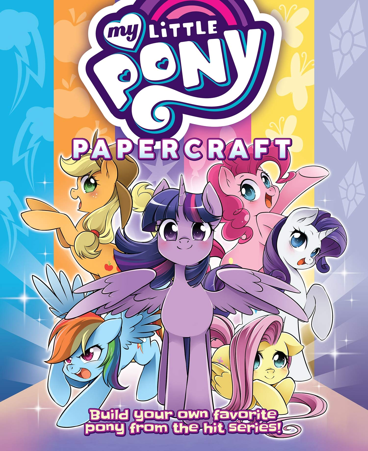 My Little Pony  Friendship Is Magic Papercraft   The Mane 6 And Friends