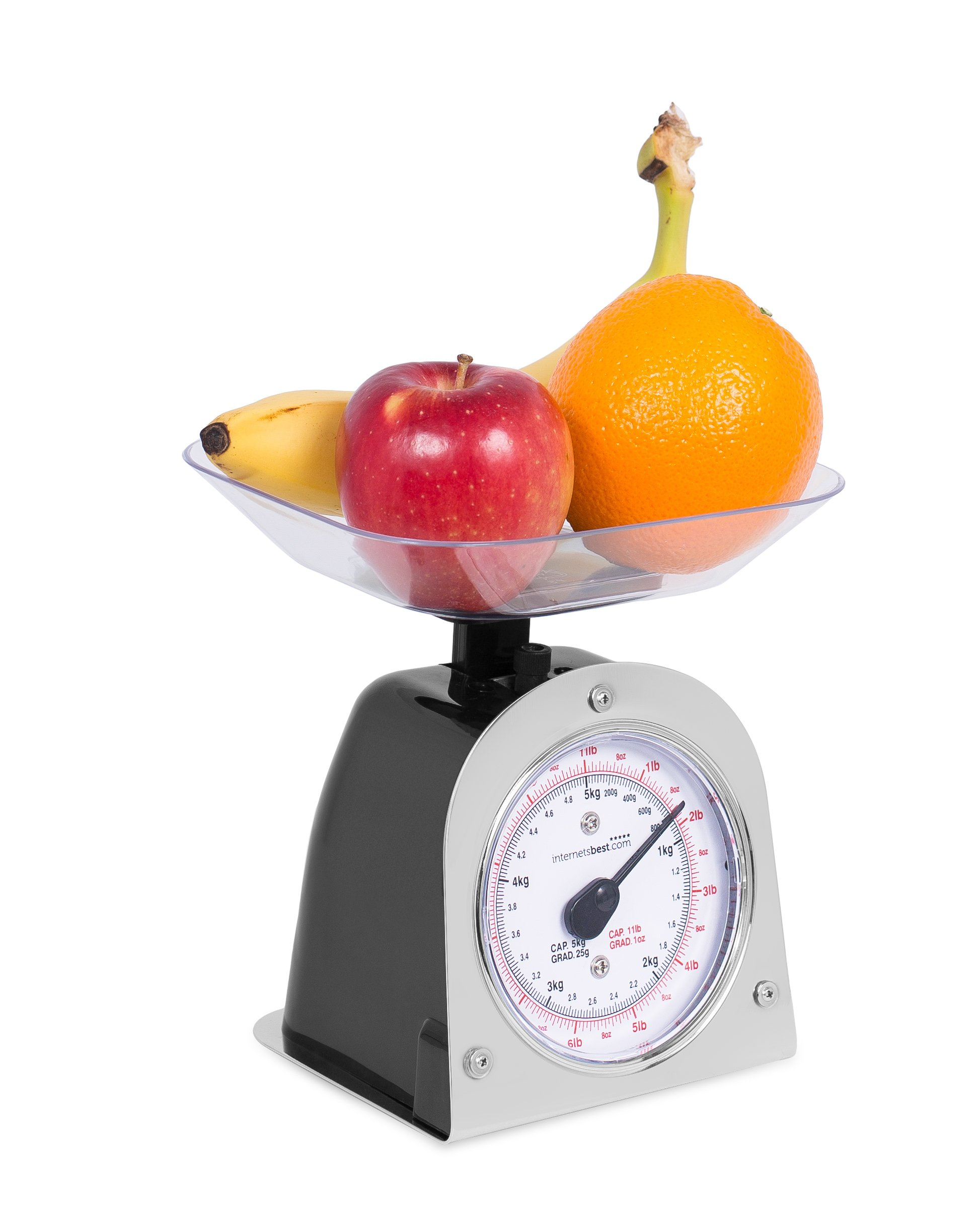 Internet's Best Mechanical Kitchen Food Weight Scale with Bowl | Accurate Measurements | Weighs Up 11 Lbs | 1KG - 5KG by Internet's Best (Image #2)