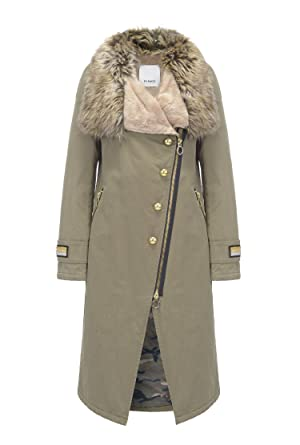7d6bf02a88d Pinko Women's Jacket Army 10 (S): Amazon.co.uk: Clothing