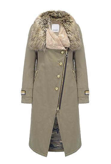 Pinko Women s Jacket Army 10 (S)  Amazon.co.uk  Clothing ae4128f0e32