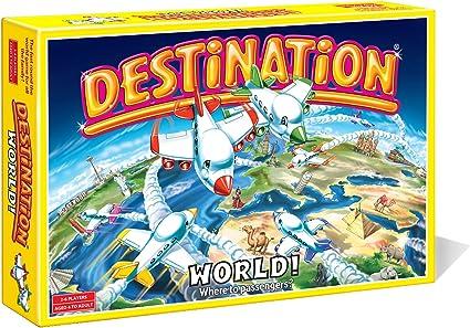 Destino Juego de mesa - Destino Mundo: Amazon.es: Juguetes y juegos
