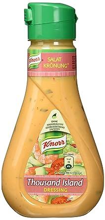 Knorr Salatkrönung Thousand Island Salatdressing Flasche 6er Pack