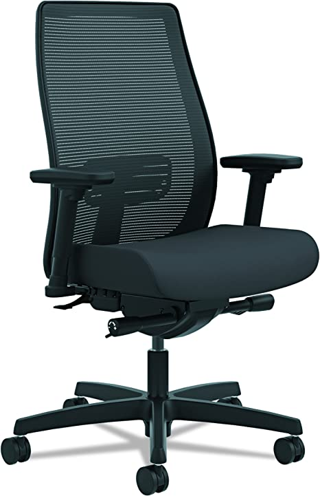 Hon Endorse Mid Back Task Chair Mesh Back Computer Chair For Office Desk Black Hlwm Furniture Decor
