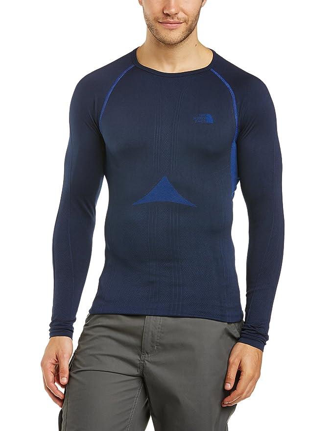 The North Face Men s Hybrid Crew Neck Long Sleeve Baselayer  Amazon.co.uk   Clothing 5e77a8967