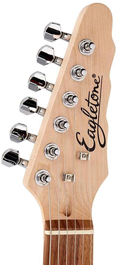 Eagletone Madison guitarra eléctrica Negro Tipo Telecaster: Amazon.es: Instrumentos musicales
