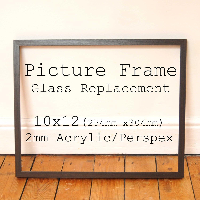 2 mm klar Acryl Verglasung Ersatz für defekte Bilderrahmen Glas ...