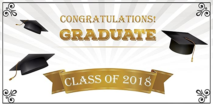 amazon com personalized graduation banner university graduation