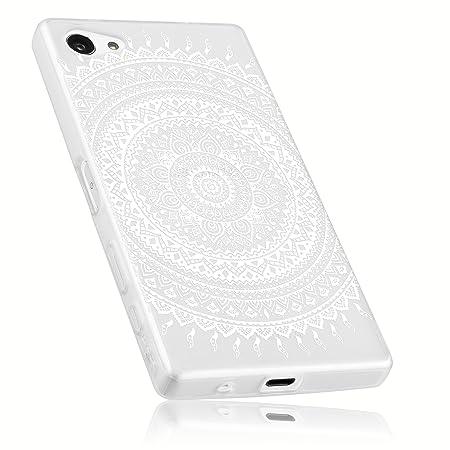 mumbi Schutzhülle für Sony Xperia Z5 Compact Hülle im Mandala Design