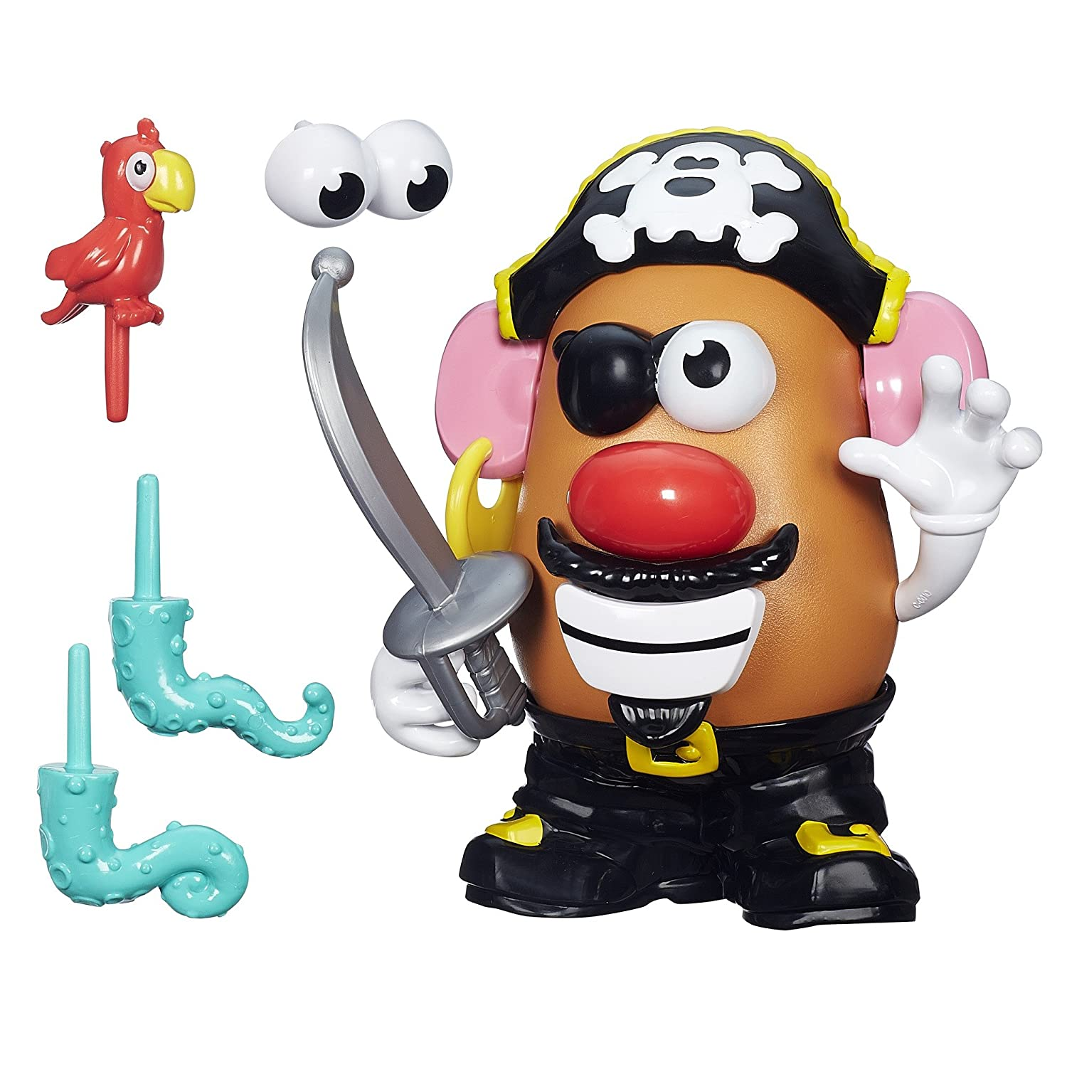 amazon playskool friends mr potato head pirate spud by mr potato