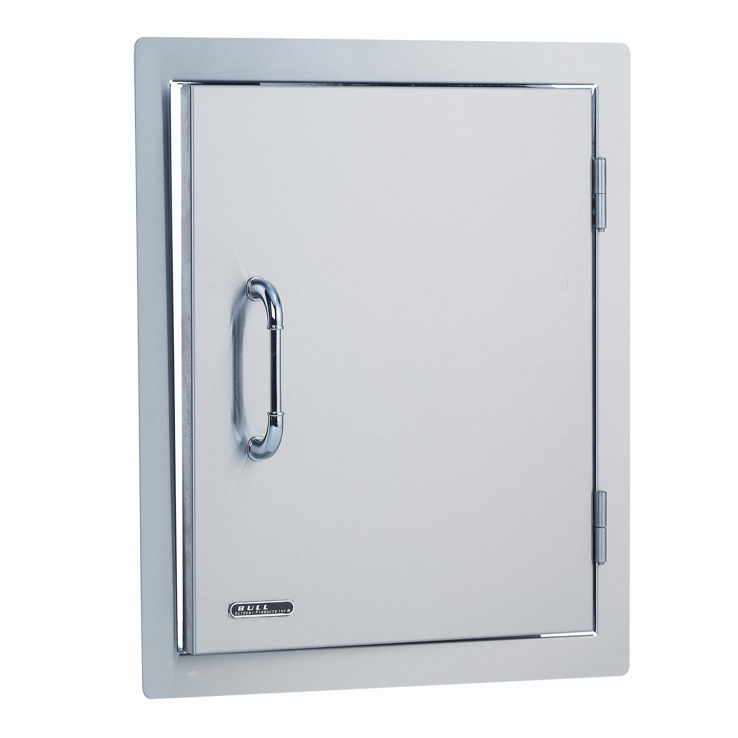 Bull Outdoor Products 89975 Stainless Steel Single Vertical Door