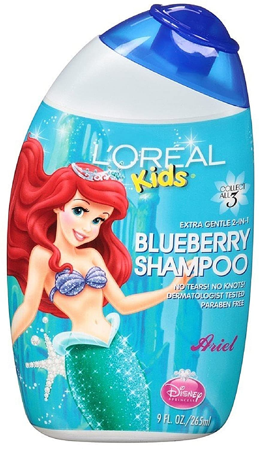 Loreal Kids Extra Gentle 2 In 1 Shampoo Royal Sunny Orange 265ml Blueberry 9 Oz Pack Of 8 Beauty