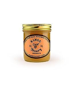 Rango Honey Gourmet Sonoran Desert Honey Mesquite Flavor 12 Oz. Squeeze Bottle