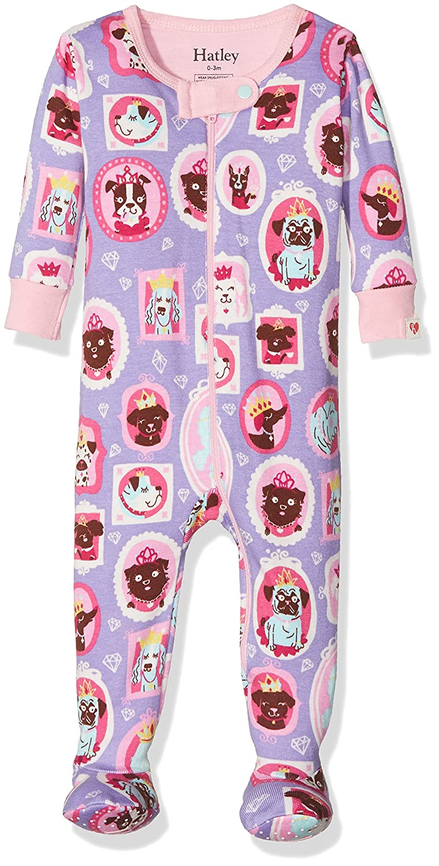 Hatley Baby Girls' Sleepsuit DR5PUPS211