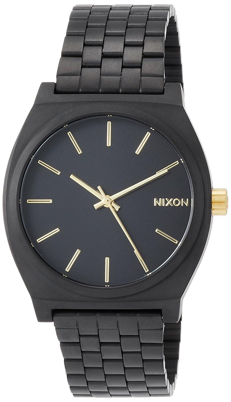 [ニクソン]NIXON 腕時計 TIME TELLER MATTE BLACK/GOLD NA0451041-00 メンズ 【正規輸入品】 B004TQJSH2 MATTE BLACK/GOLD MATTE BLACK/GOLD