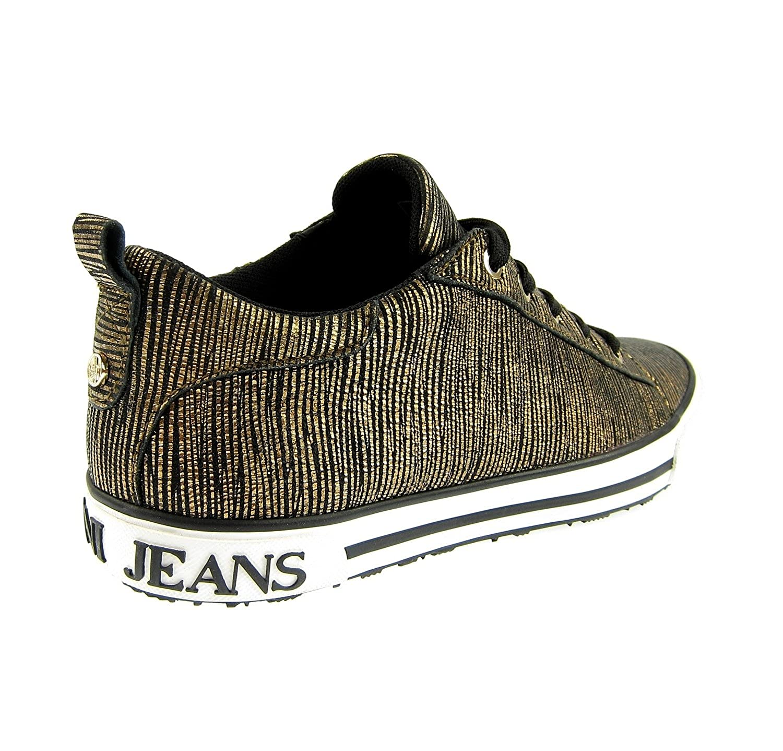 Armani Jeans 925907 925907 925907 Damen damen Turnschuhe Schuhe schuhe Gold Rust braun 470d54