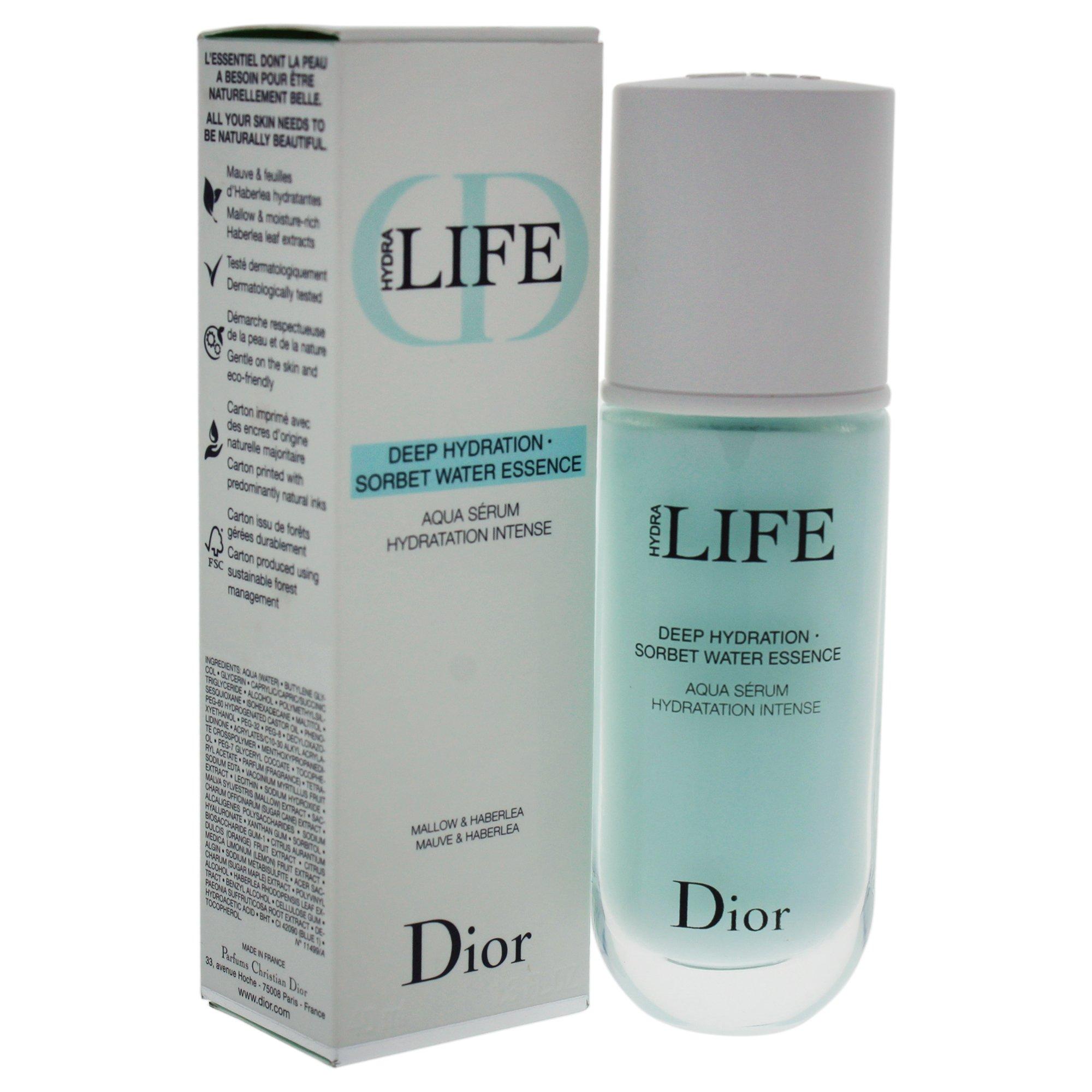 Christian Dior Hydra Life Deep Hydration Sorbet Water Essence Serum for Women, 1.3 Ounce