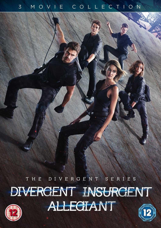 Amazon Com Divergent Insurgent And Allegiant Dvd 2016 Movies Tv