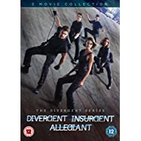 Divergent, Insurgent and Allegiant [DVD] [2016]