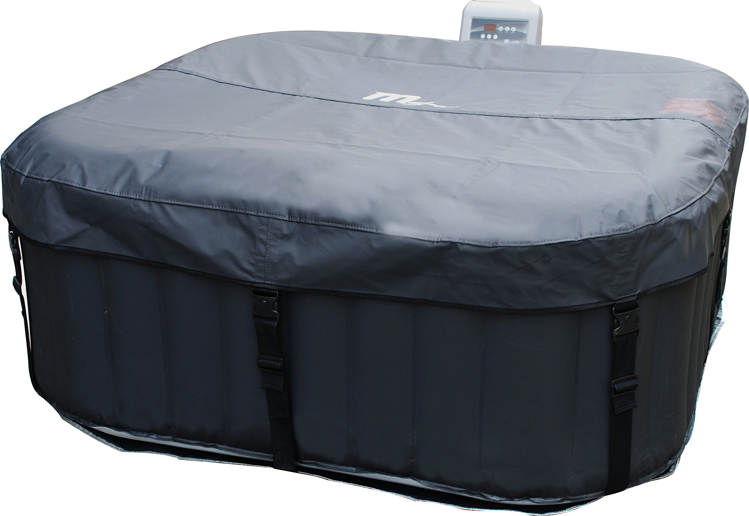 MSPA Lite Alpine Square Relaxation and Hydrotherapy Outdoor Spa M-009LS by M-SPA (Image #3)