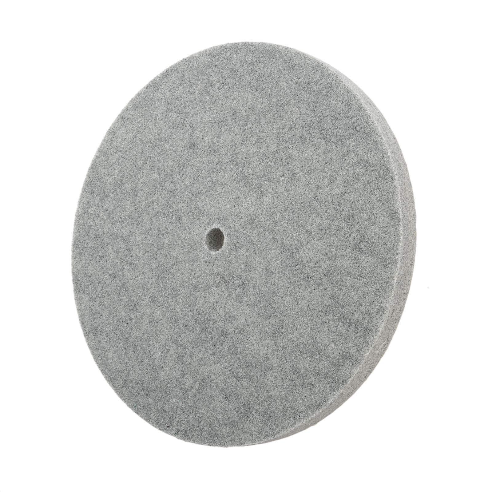 1 PC Thickness Nylon Fiber Polishing Wheel Non-Woven Unitized Wheel 5P 180#, 300MM by Yetaha (Image #3)