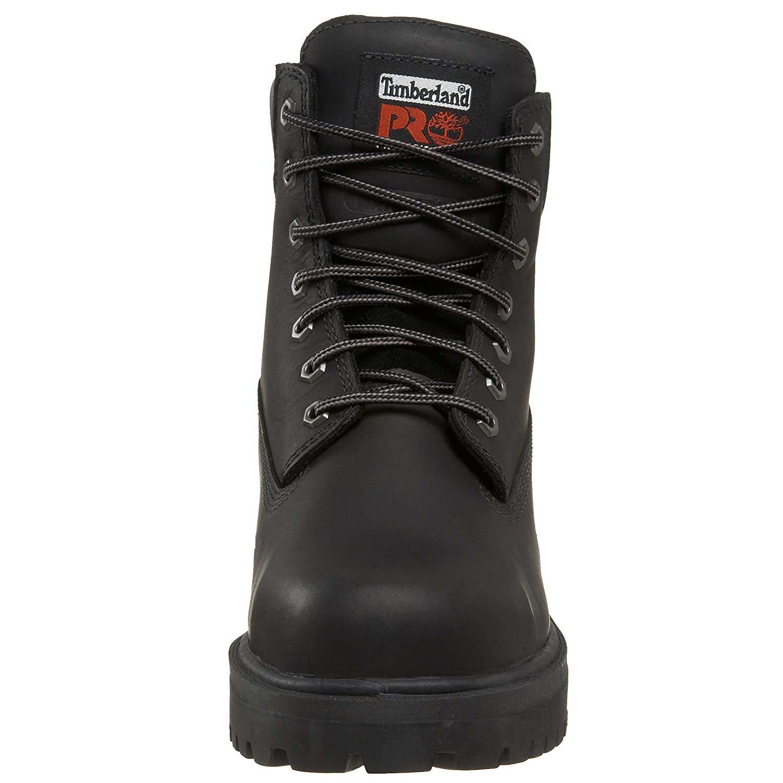 41 EU - Chaussure isol/ée /étanche /à leau de 6 po pour Homme Black Timberland PRO
