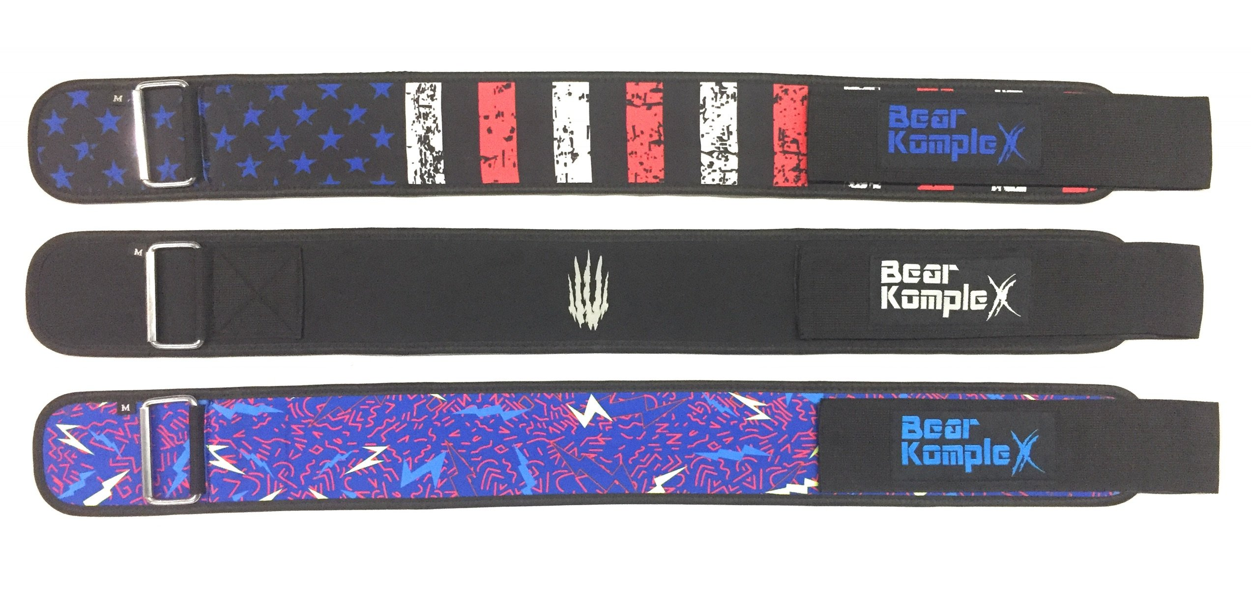 Bear KompleX 4'' Straight Weightlifting Belt for Powerlifting, Squats, Weight Training and More. Low Profile with Super Firm Back for Maximum Stability & Exceptional Comfort. Straight Black S by Bear KompleX (Image #7)