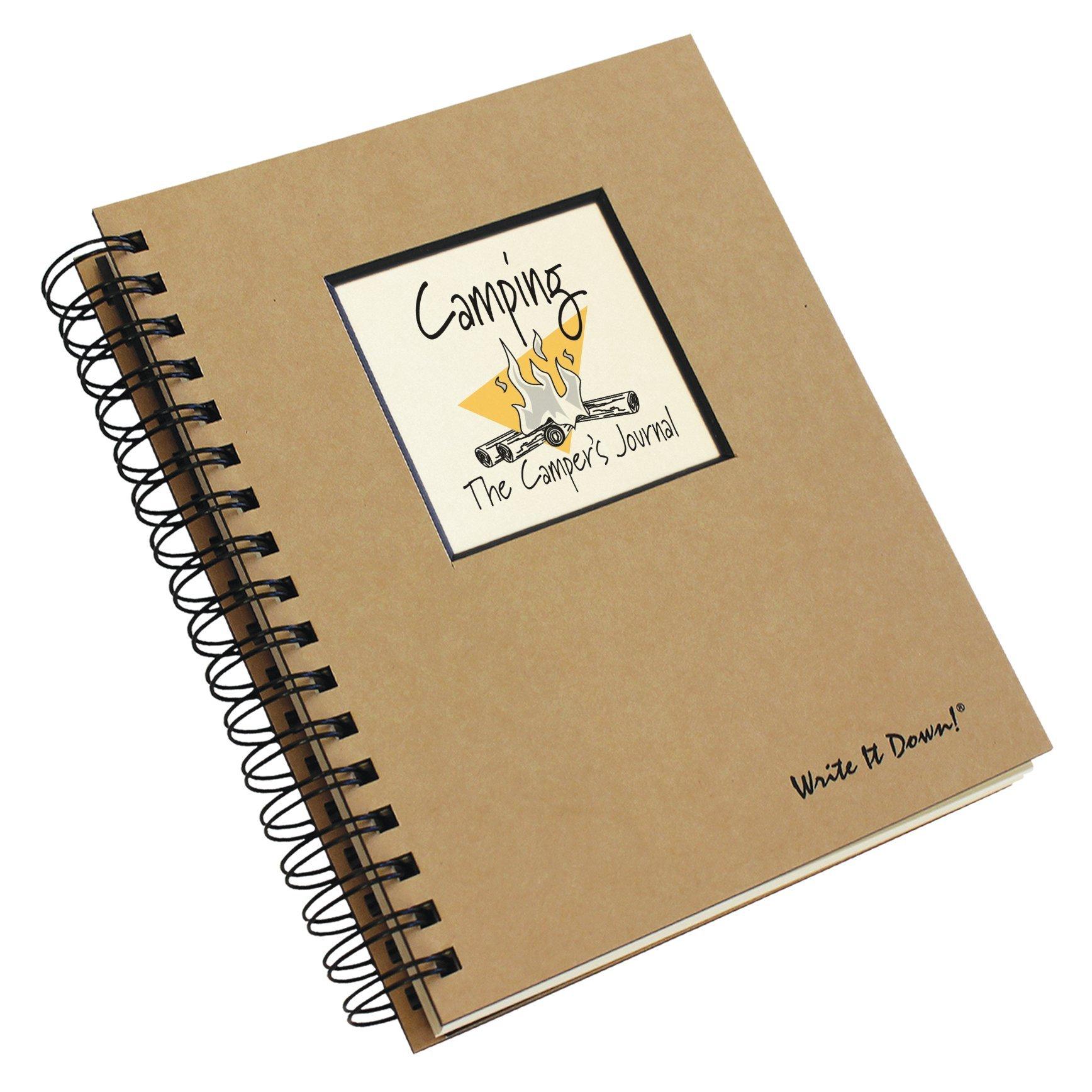 Camping: The Camper's Journal Spiral-bound – Jan 1 2013 Barbara Morina Journals Unlimited 1892033011 JU-03