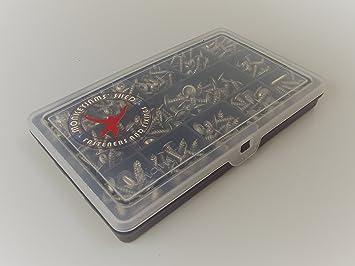 Caja de 320 tornillos autorroscantes de acero inoxidable A2 ...
