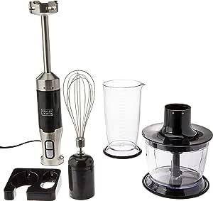 BLACK+DECKER Mixer Vertical Fusion Mix 600W MK600-BR