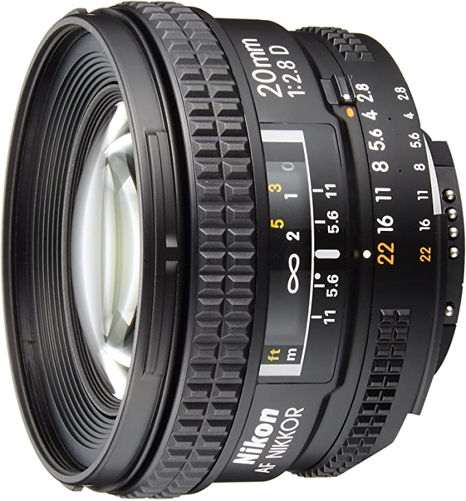 Nikon AF NIKKOR 20mm f/2.8D - Objetivo para Cuatro tercios ...