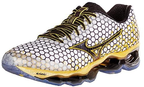 Mizuno Wave Prophecy 3- Zapatillas deportivas para correr para hombre. , Blanco (Blanco), 8 D(M) US: Amazon.es: Zapatos y complementos