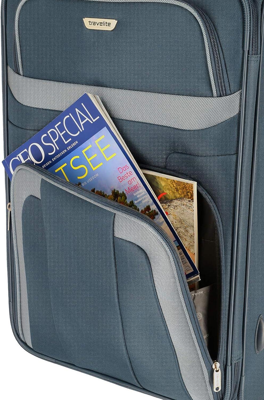 Marine 82761 Travelite Set de Bagages Orlando 2 Roues L//M//S Valise Cabine Bleu