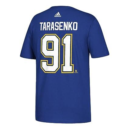 653ac22f0050a adidas Vladimir Tarasenko St. Louis Blues NHL Men's Blue Player T-Shirt