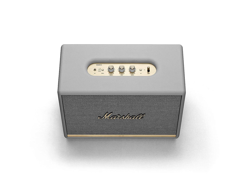 Open-Box & Unused Marshall Woburn II Wireless Bluetooth Speaker (White) kida.in