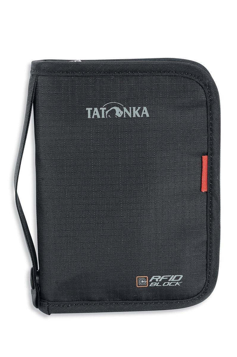 Tatonka, Custodia porta documenti Travel Zip M RFID B 2958, Nero (Black), 17 cm