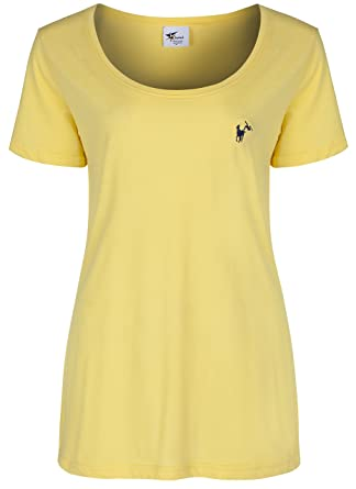 Polo Inspired by Echo3 - Camiseta - Básico - para Mujer Amarillo ...