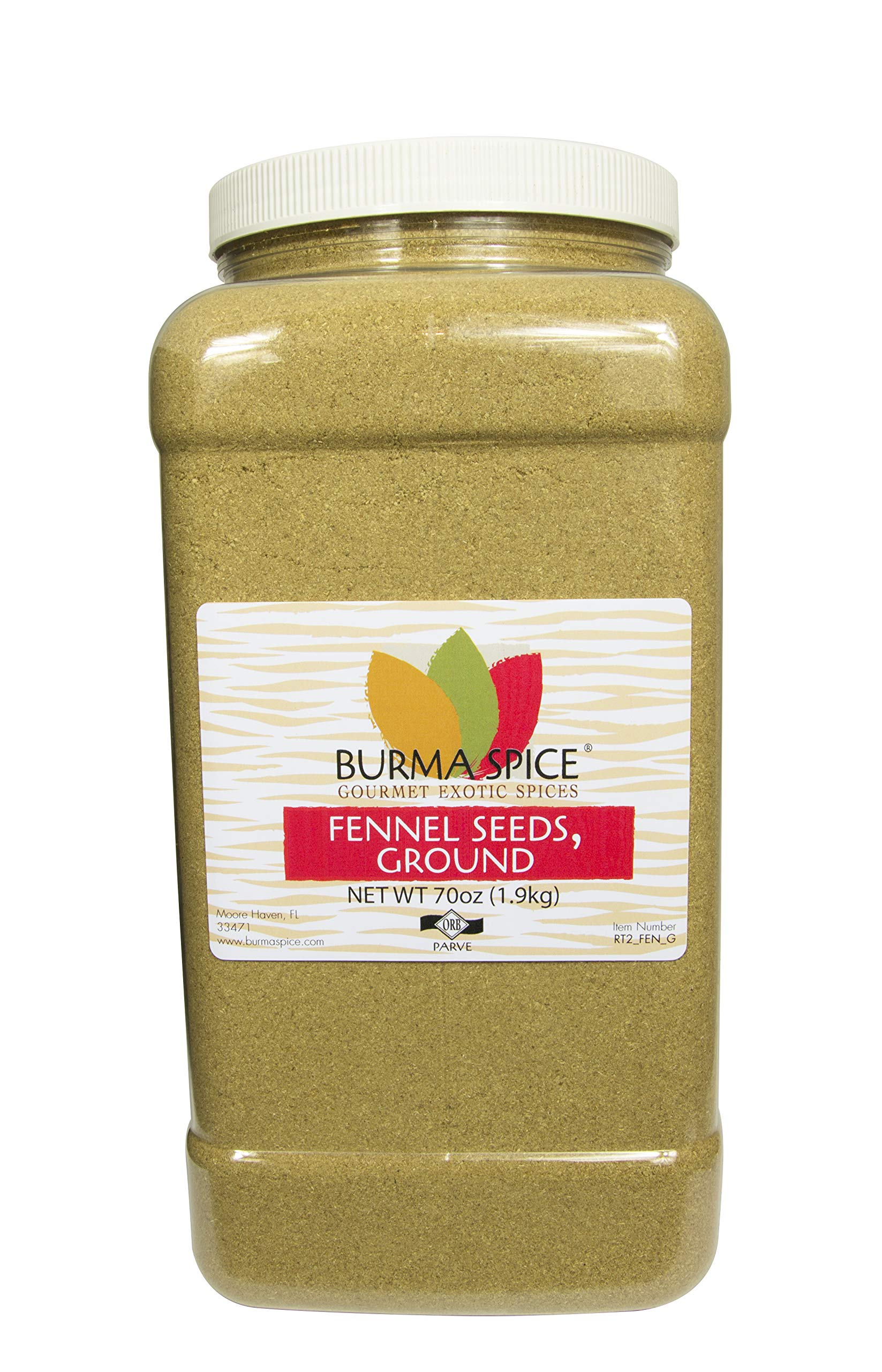 Ground Fennel Seed (70 oz.)