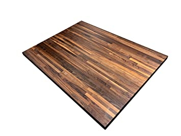 Amazon.com - Forever Joint Walnut Butcher Block Kitchen ...
