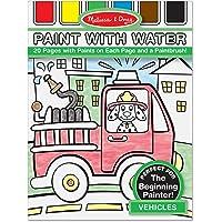 Melissa & Doug Others Pintar con Agua Vehículos