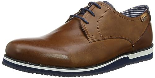 Pikolinos Leon M0k, Zapatos de Cordones Derby Para Hombre, Marrón (Cuero), 42 EU amazon-shoes el-marron Cuero